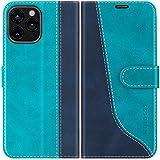 Mulbess Funda para iPhone 12 Pro MAX, Funda Móvil iPhone 12 Pro MAX, Funda Libro iPhone 12 Pro MAX con Tapa Magnética Carcasa para iPhone 12 Pro MAX 5G(6.7) Case, Azul Mint