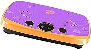 QNJM Crazy Fit Plataforma De Vibración De Cuerpo Completo Máquina De Ejercicios De Masaje Fitness, Vibración Y Plataforma De Pasos De Ejercicio, Mejorador De Entrenamiento