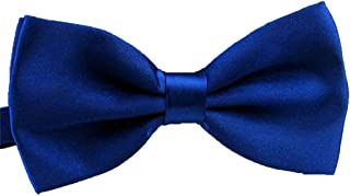 QYdress Men Bow Tie Adjustable Length Wedding Male Fashion Boys Satin Bowties