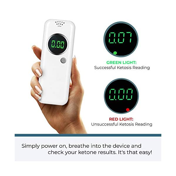 buy  KetoHC Premium Ketone Breath Meter Kit with X6 ... Diabetes Care