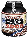 Weider Mega Mass 2000 Chocolate - 3000 gr