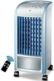 Aire Acondicionado Portátil con Control Remoto, Deshumidificador Y Purificador con Función De Ventilador, 3 Velocidades De Ventilador Modo De Reposo Temporizador De 7.5 Horas,Azul