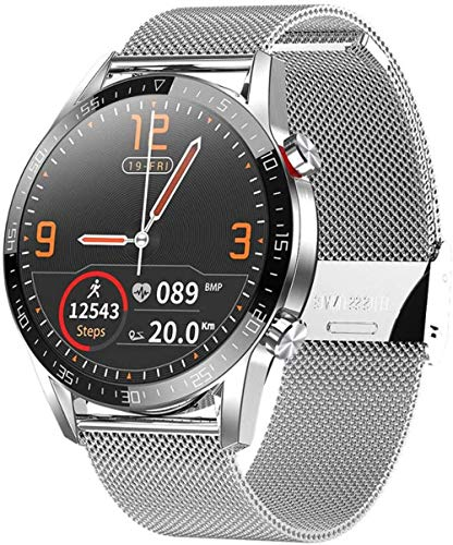 Reloj Inteligente Fitness Tracker Pulsera Actividad Fitness Tracker Bandas Smartwatch Monitor de Ritmo Cardíaco Bluetooth Llamada Deportes Smartwatch F-F