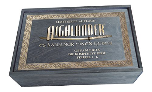 Highlander (Complete Series 1-6) - 45-DVD Box Set ( Highlander - Series One to Six ) [ NON-USA FORMAT, PAL, Reg.2 Import - Germany ]