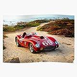 Amelius Supercar Ferrari Car, Beeindruckende Poster für
