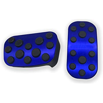 BLACK BOYUER Anti-Slip No Drilling Aluminum Brake and Gas Accelerator Pedal Covers For Honda Accord 2018 2019 2020 Foot Pedal Pads Kit 2PCS