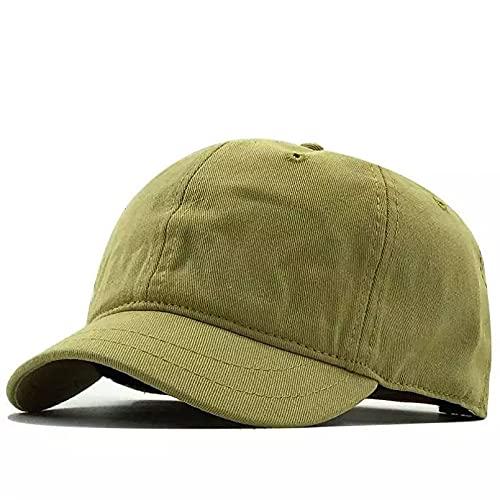 Ocio Aire Libre Sombreros de Hip Hop del Snapback del algodón de la Gorra de béisbol de la Visera Corta del Color sólido Moda Verano Regalo Padres Amigos.