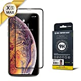 GPEL Screen Protector for iPhone Xs Max/iPhone 11 Pro Max Compatible Real Tempered Glass Case-Friendly Work with Most Case [HD Clarity] 9H Hardness 99% Touch Accurate