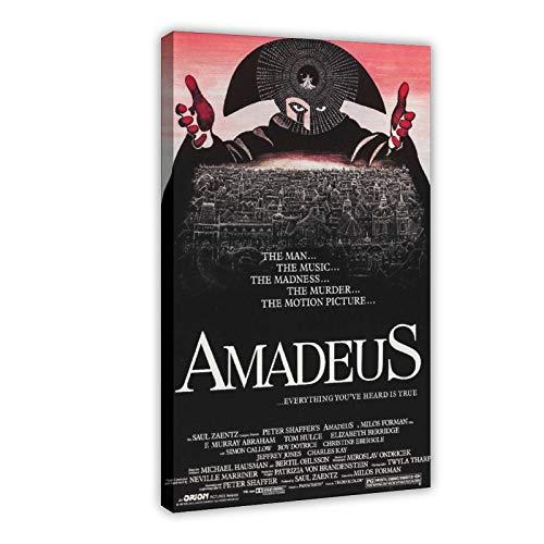 Amadeus Poster classique des années 80 pour salle de théâtre, décoration de chambre, de sport, paysage, bureau, décoration, cadeau, 60 × 90 cm
