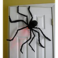 Prextex Huge 4 Ft. Black Hairy Spider