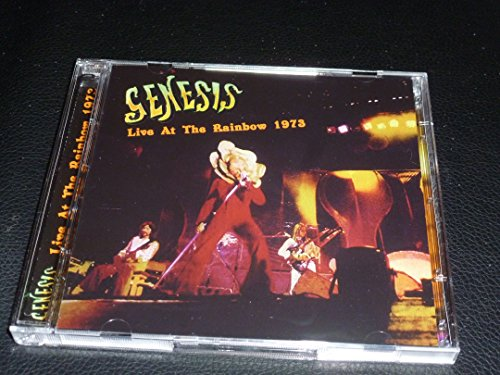 2CD. GENESIS. LIVE AT THE RAINBOW 1973. + BONUS OUTTAKE +UNRELEASED LIMITEE SOUNDBOARD RECORDING