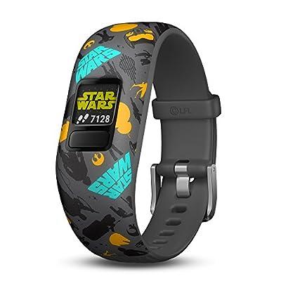 Garmin vivofit jr. 2, Kids Fitness/Activity Tracker, 1-Year Battery Life, Adjustable Band, Star Wars the Resistance by Garmin
