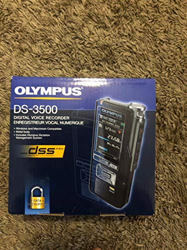 Olympus DS-3500 Professional Dictation Digital Recorders DS3500 California