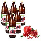 Mynatura Granatapfel 100% naturtrüber Direktsaft | Muttersaft | Ohne Zucker 6L