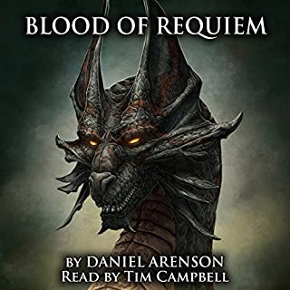 Blood of Requiem audiobook cover art