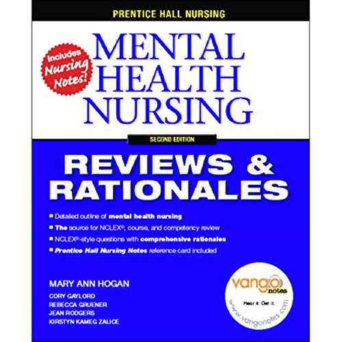 VangoNotes for Mental Health Nursing audiobook cover art
