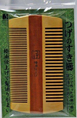 徳安『つげのすき櫛(TOG-104)』