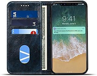 iPhone 6 スマホケース、SIMPLE DO スタンド機能 PUレザーケース 傷つけ防止 保護 手帳型 カード収納 ビジネススタイル iPhone 6対応(ブルー)