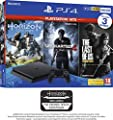 PS4 500GB with 3 PS Hits Game Bundle (PS4) (Exclusive to Amazon.co.uk) by Sony