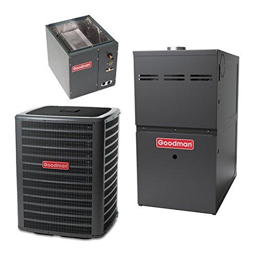 Goodman 5 Ton 15 Seer 120,000 Btu 80% Afue Gas System GSX160601 - CAPF4961D6 - GMH81205DN - TX5N4