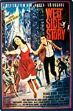 West Side Story,8x12 Inch Vintage Metal Tin Sign Iron Art Poster,Apply to Club Bar Cafe Home Wall Decor
