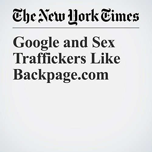 Google and Sex Traffickers Like Backpage.com copertina