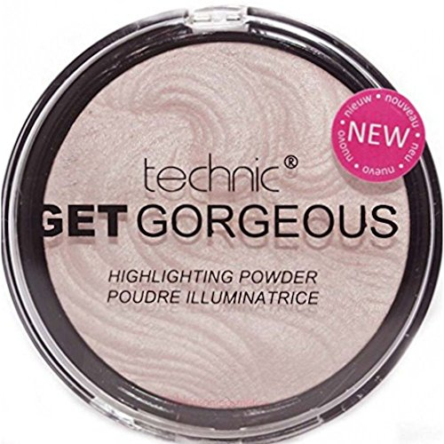 TECHNIC GET GORGEOUS HIGHLIGHTER Shimmer Compact...