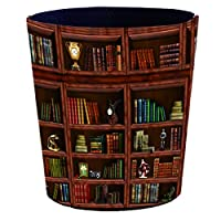 防水ゴミ箱、寝室、キッチン、オフィス用の古紙箱、25 * 20 * 27cm chen