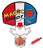 PowerTRC Magic Shot Mini Basketball and Hoop with Ball and Pump