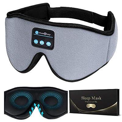Sleep Headphones 3D Bluetooth Sleep Mask, MUSIC...
