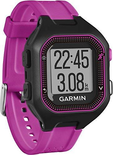 Garmin Forerunner 25 - Montre de Running Connectée - Noir et Violet (Small)