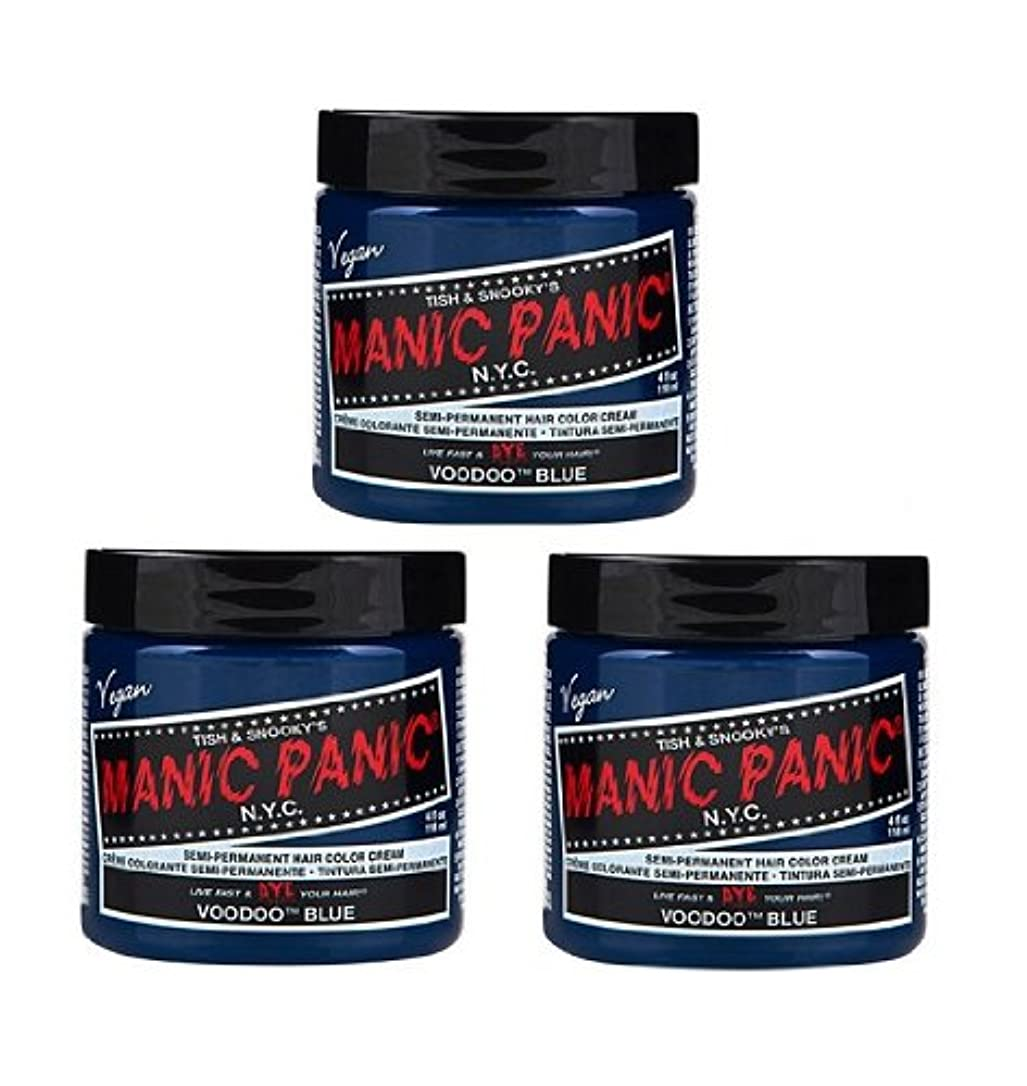 テーマテセウス同封する【3個セット】MANIC PANIC マニックパニック Voodoo Blue ブードゥーブルー 118ml