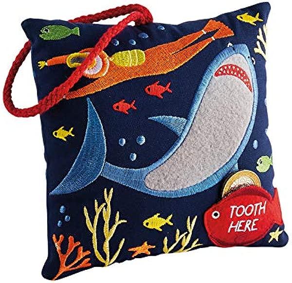Floss And Rock Deep Sea Tooth Fairy Cushion