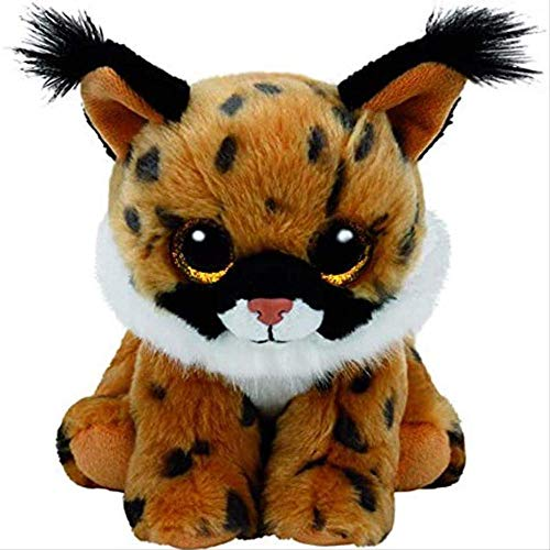 qwerqz Peluche - Beanie Babies Larry The Lynx Wild Cat