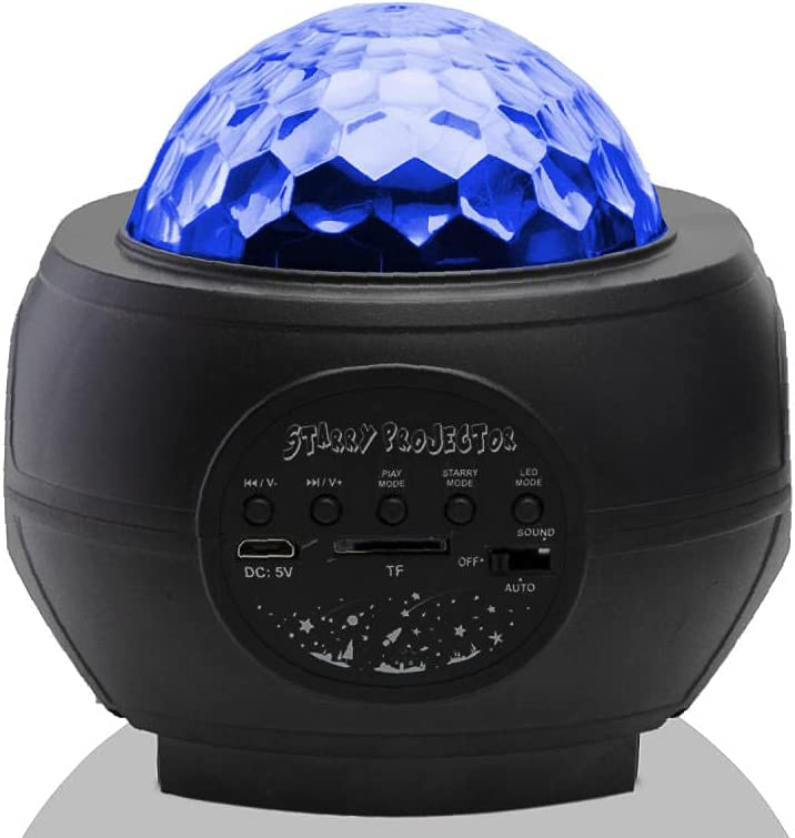 MZTYX Projection Night Light 360-degree Max 71% OFF Milwaukee Mall Color-Changing Rotating