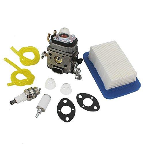KIPA Carburetor Maintenance kit for Echo PB500T PB500H EB508RT Leaf Blower A021001641 A021001642 Walbro WLA-1 WLA-6 WLA-6-1 Echo Yamabiko Sprayer DME500 Engine with Correct Throttle Linkage