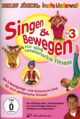 Singen & Bewegen für eine spielerische Fitness, DVD