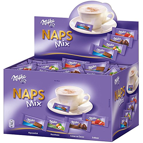 Milka - Naps Mix - 355 st