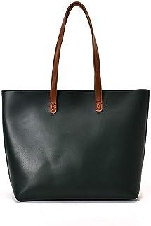 Shoulder Bag Ladies Fashion Versatile Shoulder Diagonal Bag, Pu Casual Soft Bag Large Capacity Zipper Closure Handbag Clutch (Color : Green)