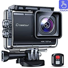 4K50fps Touch Screen Sports Camera - You could control the camera more intuitively and simplier with the touch screen. Native 4K@50fps video and 20MP photo resolution can help you capture each wonderful moment with a higher clarity. Lens Distortion C...