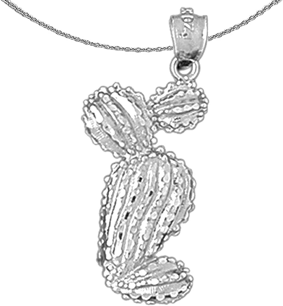 Jewels Obsession Gold Cactus Pe White Necklace Louisville-Jefferson County Mall 14K Reservation