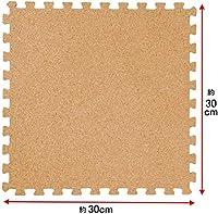 即納販売 コルクマット30cm 180枚 10畳 天然コルク使用国内検査済超低ホル (大粒)