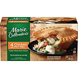 Marie Callender's Frozen Meal, Chicken Pot Pies, 15 Ounce, 4-Count