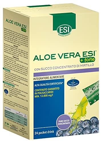 Aloe Vera Succo + Forte Mirtillo - 24 Pocket Drink