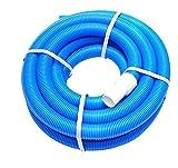 well2wellness Poolschlauch Schwimmbadschlauch 38mm mit Schlauchtüllen an beiden Enden - 8,0 m lang