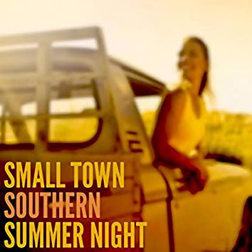 Small Town Southern Summer Night