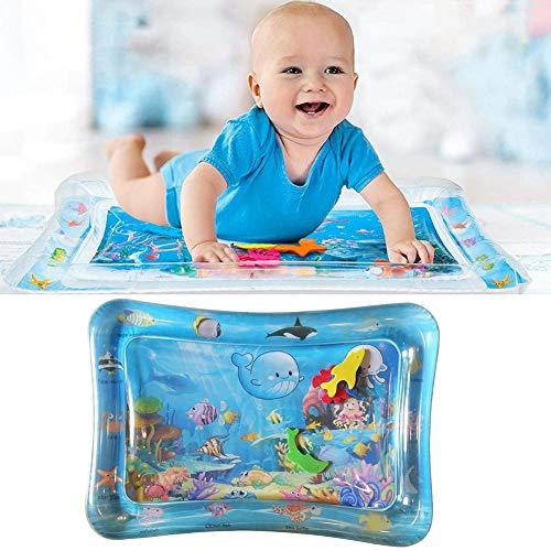 starter Coussin d'eau Gonflable pour bébé, PVC Coussin Gonflable pour bébé Coussin Gonflable pour Coussin d'eau Tapis de Protection pour Tapis de Protection de l'eau pour Enfants (66x50cm)