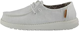 Hey Dude Wendy Youth Linen Black, Size