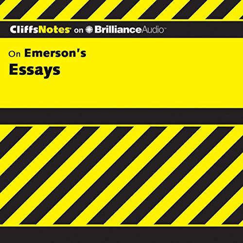 Page de couverture de Emerson's Essays: CliffsNotes