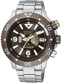 Citizen - Promaster BY2000-55W - Reloj para Hombres, Correa de Titanio Color Plateado